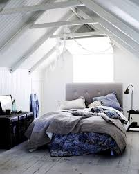 bedroom excellent loft white scandinavian bedroom with white