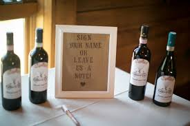 wine bottle guestbook diy wine bottle guest book capitol practical local
