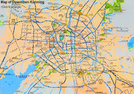 Map Of Usa Attractions by Maps Of Kunming China Hotels Attractions Bus Stations