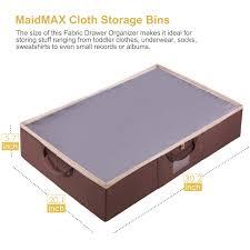 closet under bed underbed storage bag maidmax fabric under bed storage case