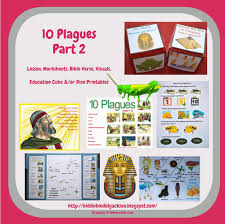 bible fun for kids moses u0026 the 10 plagues visuals part 3