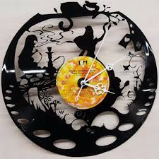 alice in wonderland lp clock u2013 things u0026 stuff