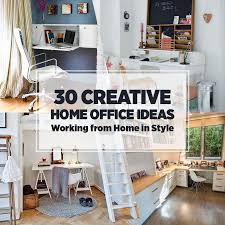 Unique Home Office Furniture Home Office Ideas Working From Home In Style