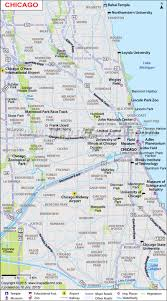 Detailed Map Of Michigan Chicago Map Map Of Chicago Neighborhoods Chicago Illinois Map