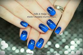 gelish nail art funky fingers factory