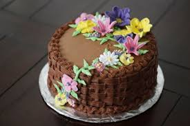 Decorating Cake with Flowers Gallery Picture CAKE DESIGN AND COOKIES