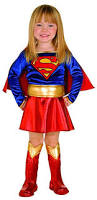 Supergirl Infant Halloween Costume Amazon Super Dc Heroes Supergirl Toddler Costume Size 2 4