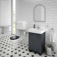 chequered gloss white marble effect floor tile 600 x 600mm