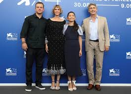 shrunken matt damon opens 74th venice film festival ntd tv