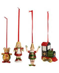 villeroy boch gift decorations set of 3 the most