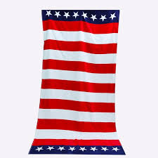 home design brand towels beach towel cotton usa flag design bath towels for adults toalla in