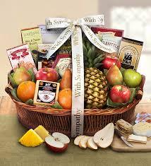 sympathy fruit baskets sympathy fruit basket 1800baskets 93475