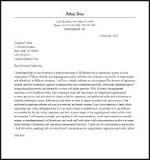 epic director of operations cover letter sample 28 for your good