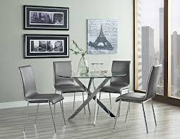 White Modern Dining Room Sets Amazon Com Powell Putnam Round Dining Table Tables