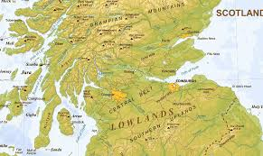 Continental Divide Map Making A Map Of Scotland U2014 Lord Of The Rings Style U2013 Callum Ogden