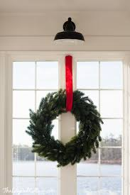 how to hang a wreath without damaging woodwork the lilypad cottage