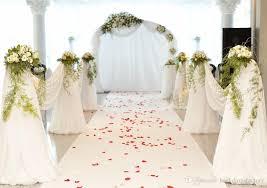 wedding vinyl backdrop white carpet wedding backdrops petals soft