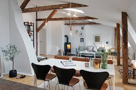 penthouse apartment on kungshöjd showcases scandinavian design