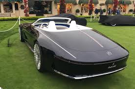 maybach mercedes electric mercedes maybach 6 cabriolet concept car revealed autocar