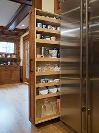 Small Kitchen Storage Cabinets by Pull Out Storage Next To Fridge Kitchen Ideas Pinterest