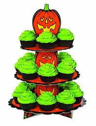 amazon com wilton 1512 1679 pumpkin 3 tier cupcake or treat