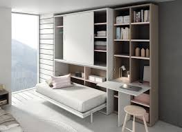iq system b by erba italia is a modern murphy bed that opens with