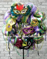 mardi gras wreaths mardi gras wreath