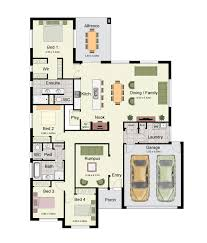 two family floor plans the hume 244 is a spacious family home with four bedrooms and two