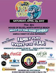 taste of the coast at the house of blues risen christ christian