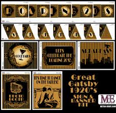 Great Gatsby Party Decorations Decorating Party
