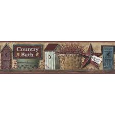 wallpaper borders bathroom ideas bathroom wallpaper borders adastra