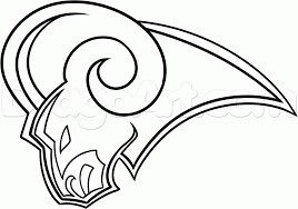 how to draw the st louis rams step by step sports pop culture
