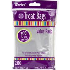 treat bags treat bags 3 x4 75 200 pkg clear walmart