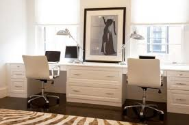 Home Office With Two Desks Decoration Home Office Ideas For Two Offition