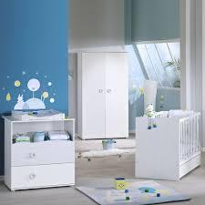 chambre bébé trio nino lit commode armoire de sauthon meubles