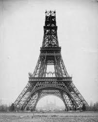 1887 1889 the building of the eiffel tower un jour de plus à paris