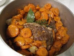 cuisiner du paleron de boeuf recette de la semaine paleron de bœuf aux carottes le d
