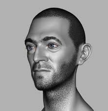 likeness sculpt of vincent cassel