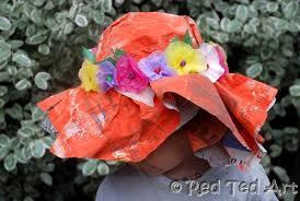 easter bonnets kids crafts easter bonnets ted s