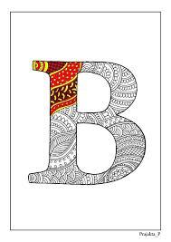 armenian alphabet coloring pages zentangle alphabet coloring pages henna doodle alphabet