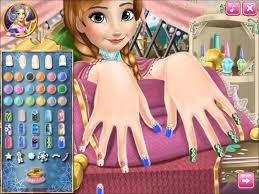 disney princess anna frozen nails spa hd gameplay girls