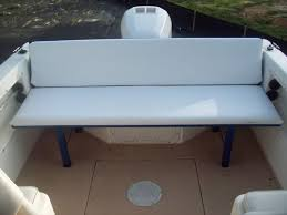 Rear Bench Seat For Boat Anyone Add Seating To A Walkaround Page 1 Iboats Boating