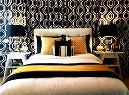 Black And Gold Bedroom Ideas - Black and gold bedroom designs