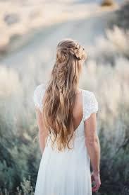 Hochsteckfrisurenen Halboffen Einfach by Hochzeit Schicke Brautfrisur Halboffen Fischgräte Lange Haare