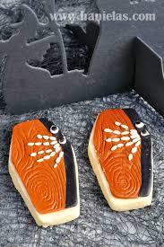 haniela u0027s halloween casket cookie decorated with fondant
