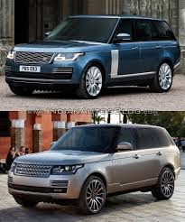 land rover voque 2018 range rover vs 2013 range rover old vs new