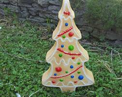 Blow Mold Plastic Christmas Yard Decorations by Blow Mold Etsy