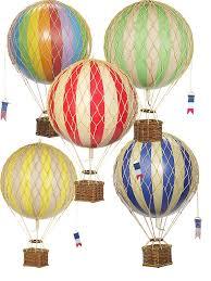 heißluftballon kinderzimmer ballon modell ballon set travels light alle farben ø 18 cm ch