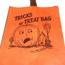 halloween background large sale vintage storpak unused halloween paper trick or treat bag