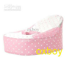2018 pink dots baby toddler beanbag chair kid bean bag sofa from